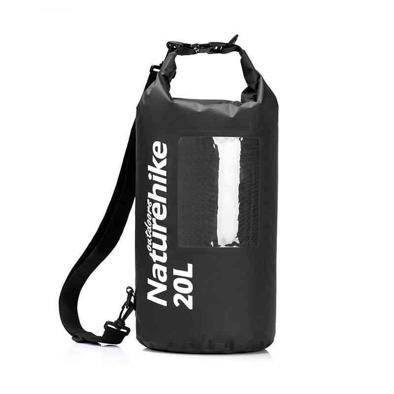 Window Tpu Pack, Waterproof Single Shoulder Bag For Rafting Camping