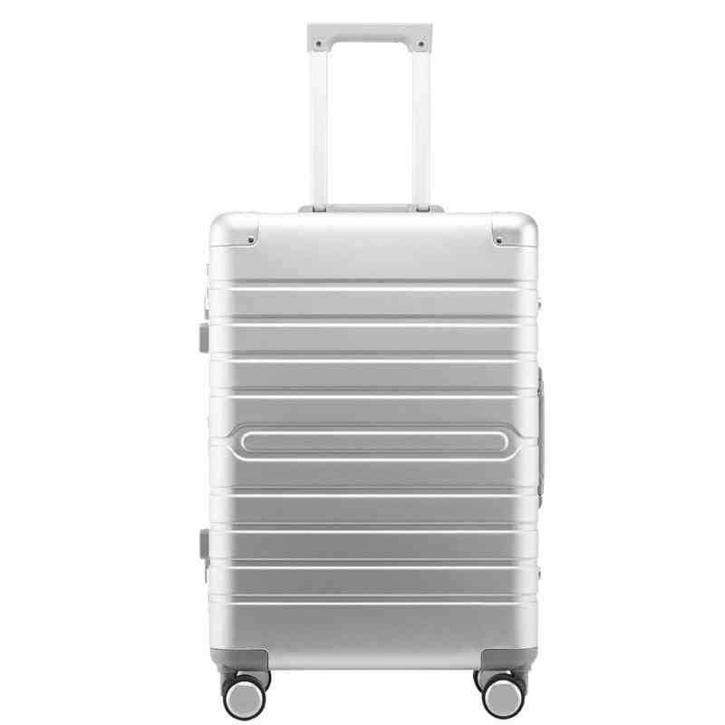 Carrylove Aluminum Hand Luggage, Spinner Metal Large Hard Trolley, Suitcase With Wheels