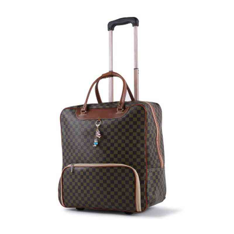 Women's Waterproof Cabin Oxford Cloth, Trolley , Luggage Trailer Box,