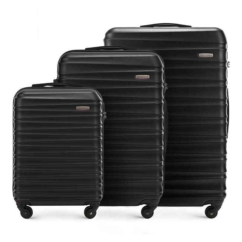 Abs Hard Shell Trolley Luggage, High Capacity Fashion Travel Suitcase
