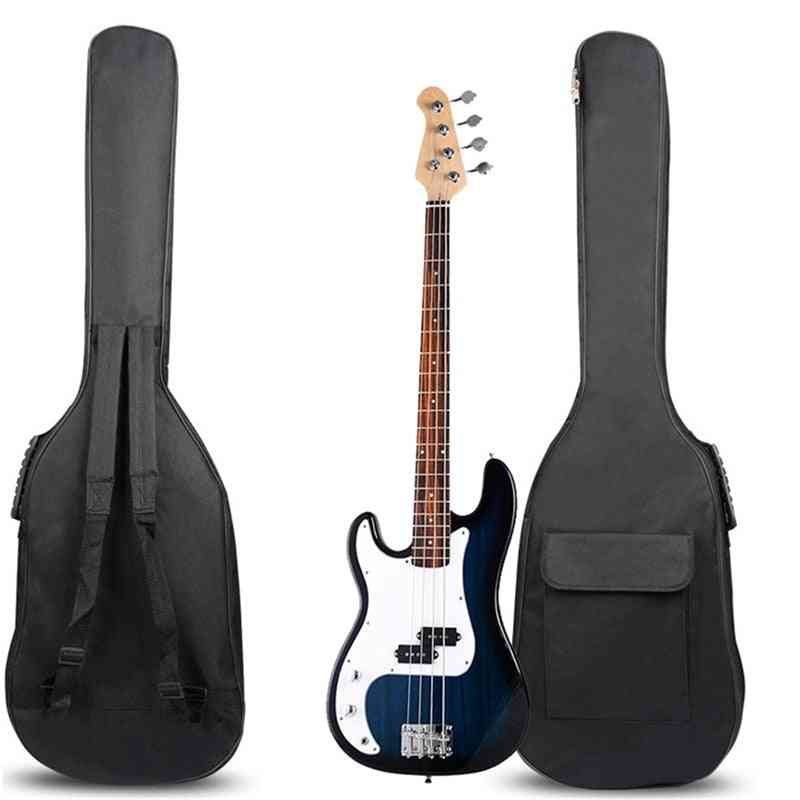 Double Straps Padded, Electric Bass Guitar Bag