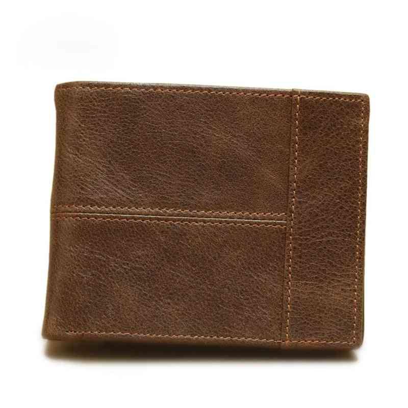 Men Genuine Leather Wallets, Credit Card Holders