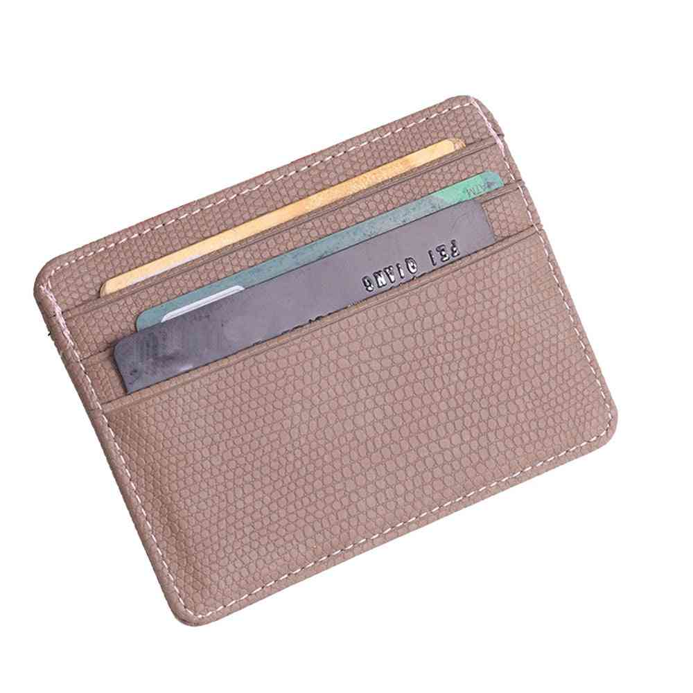 Fashion Women Pattern Bank Card Package Coin Bag Package Certificate Purse