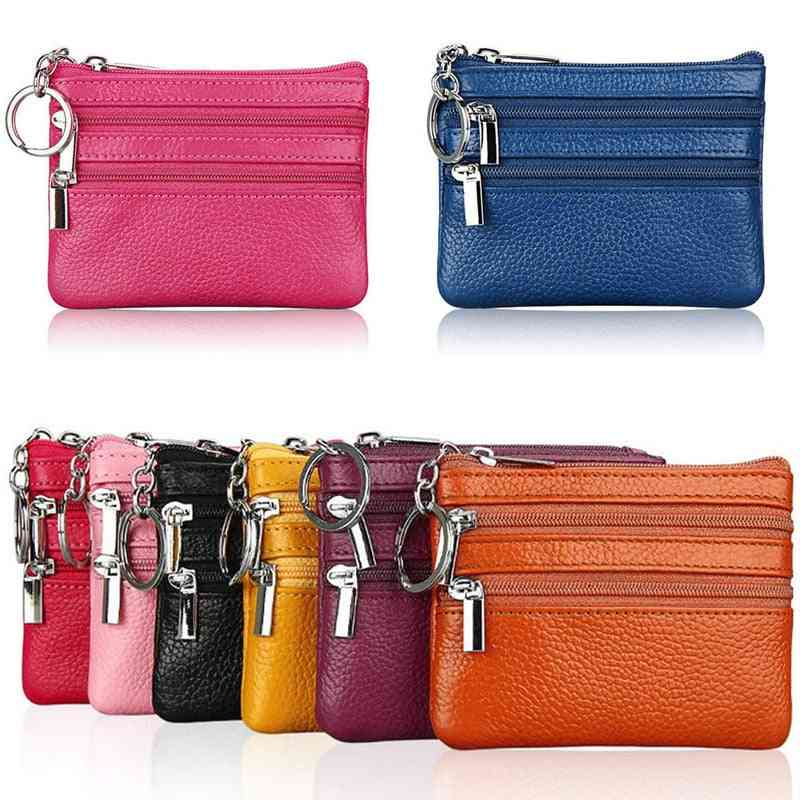 Fashion Leather Women Wallet Clutch Zip Female Short Small Coin Purse