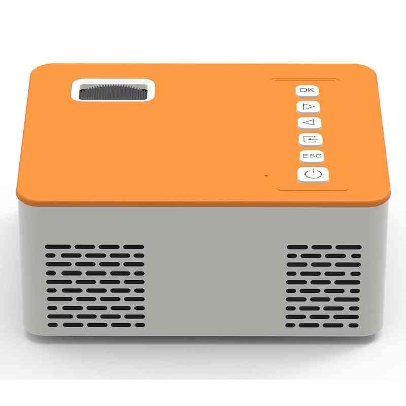 Portable Video Projector, Home Theater, Cinema Support, Mobile Phone Led Lamp