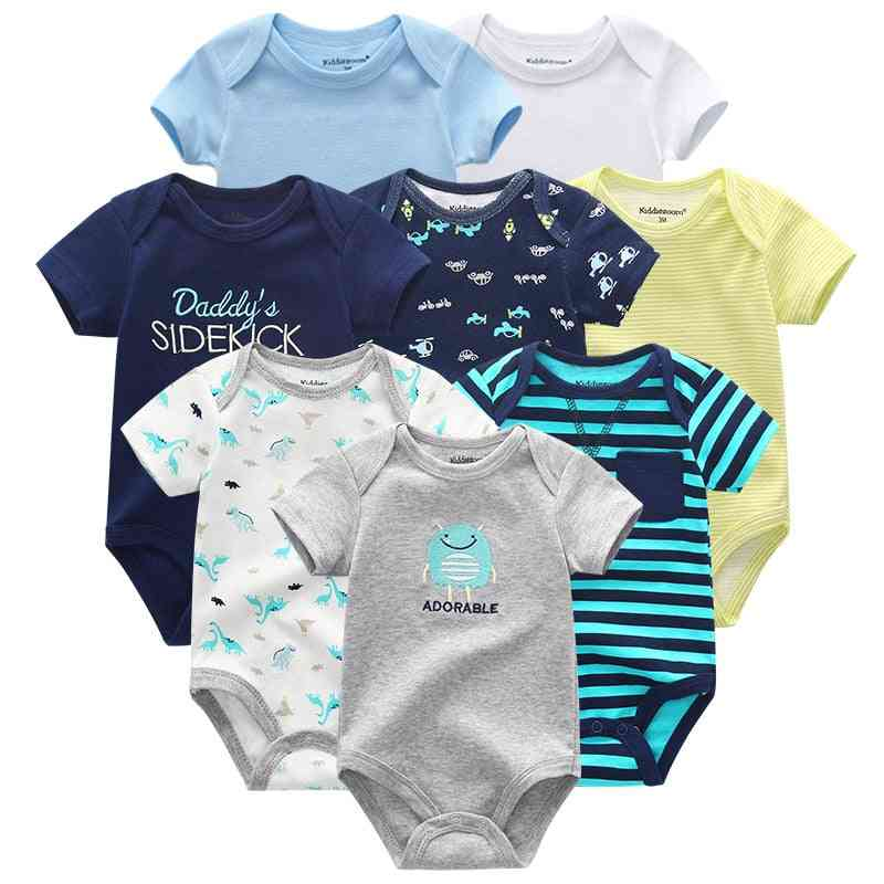 Short Sleeve Rompers - Newborn Baby Jumpsuit & Clothing (set-3)