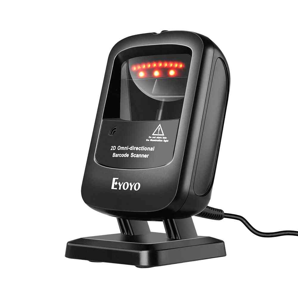 Infrared Auto-sensing Scanning Decoding Capability Handsfree Scanner