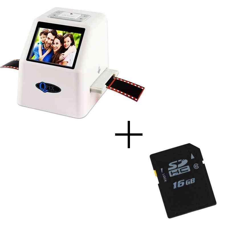 High Resolution 22 Mp 35mm Negative Film Scanner Super 8 Slide Photo Film Converter