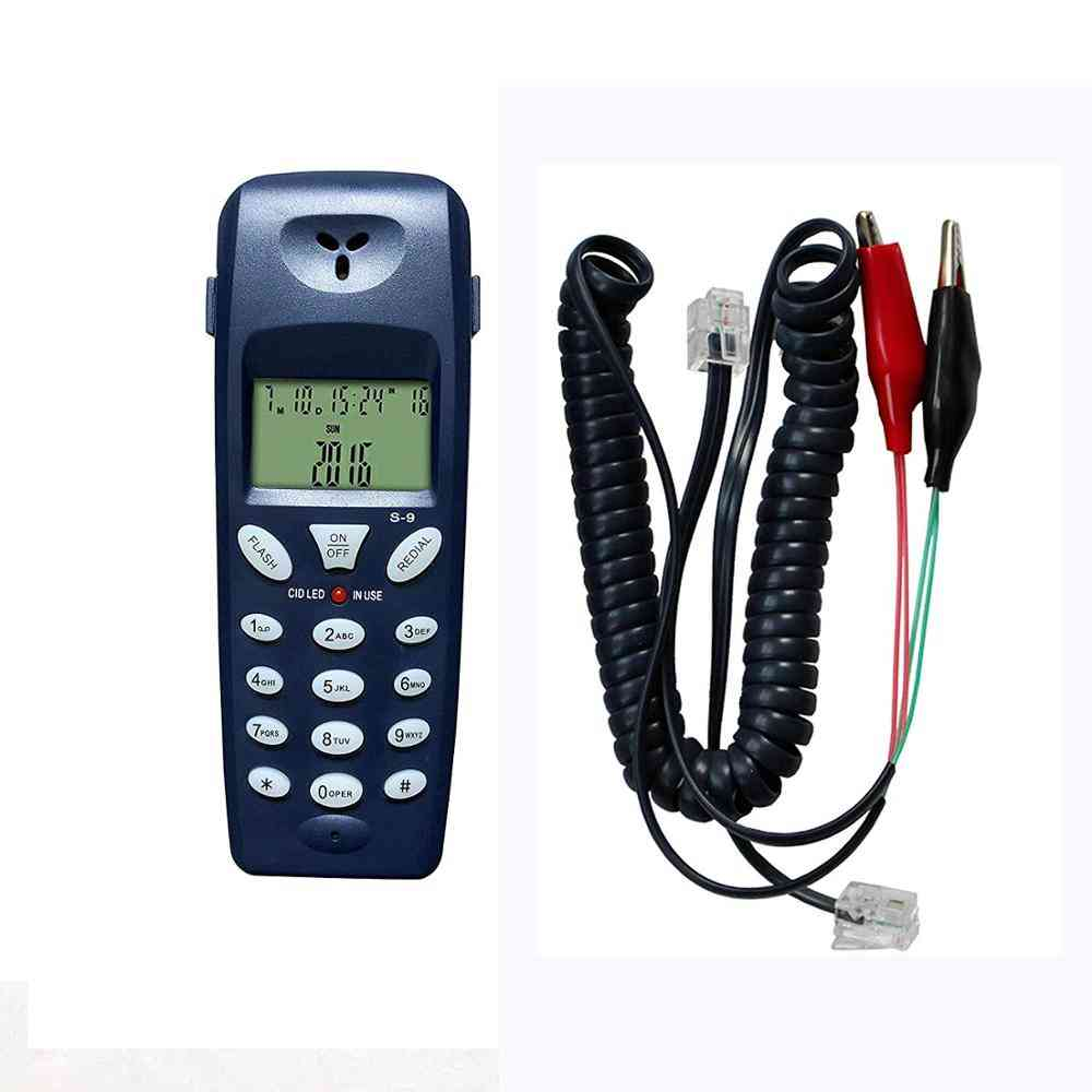 Telephone Phone Butt, Telecom Tool Network Cable Set Professional Test Device