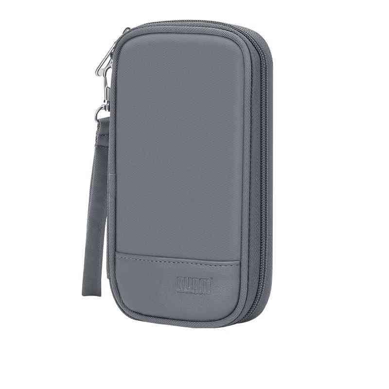 Power Bank / Hard Disk Case, Usb Cable Earphone External Storage Box