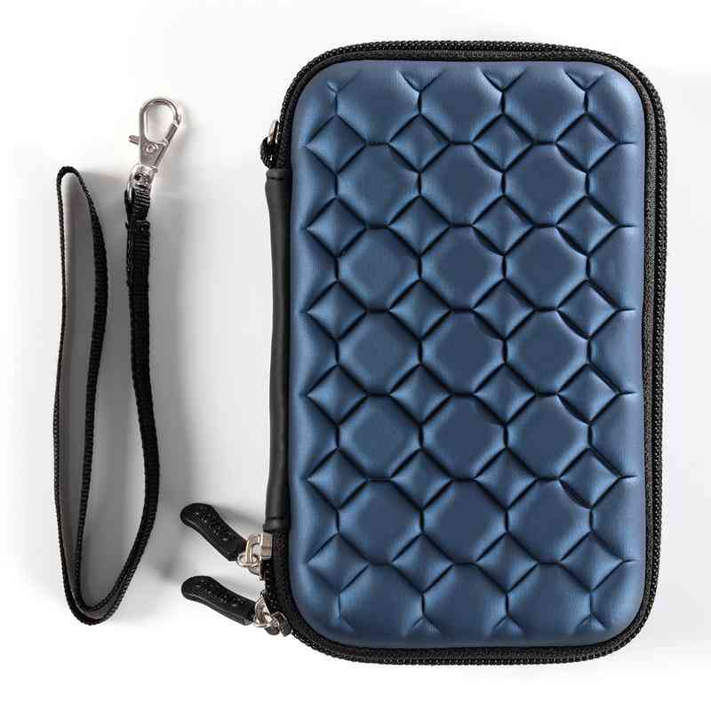 Protection Portable Hard Drive Bag, External Hdd Storage Box Accessories (blue Color)