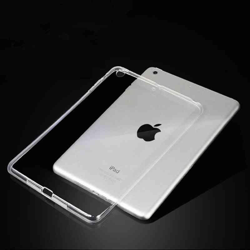 For New Ipad Case Tpu Silicon Transparent Slim Cover Air Pro Mini