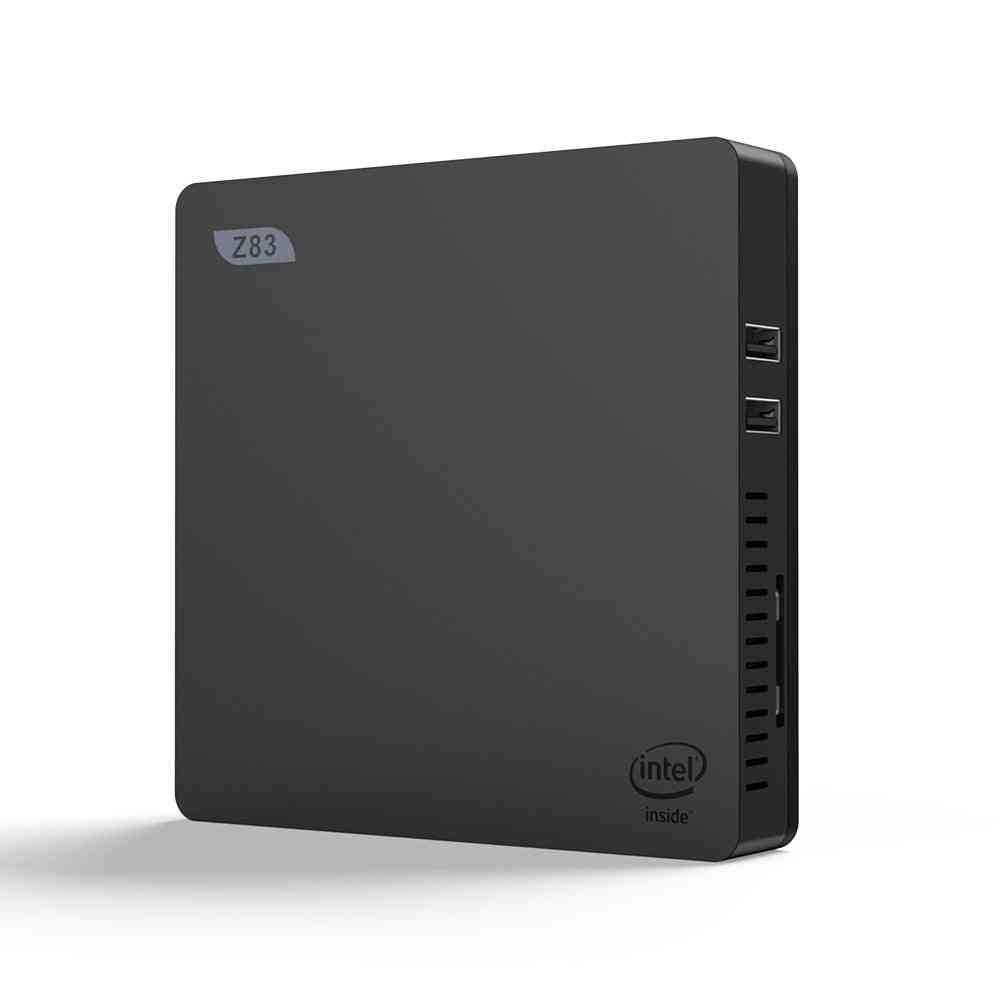 Mini Pc Windows10 License Intel Atom Dual Wifi Lan Desktop