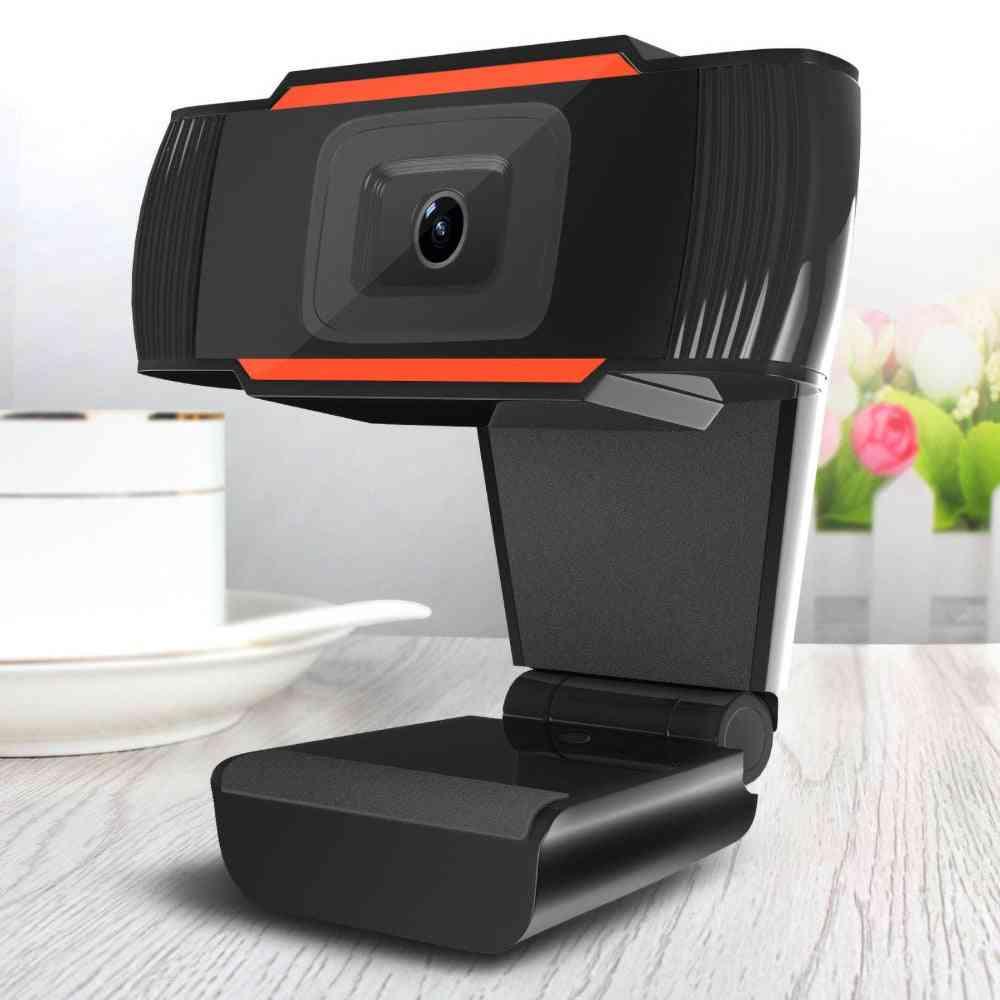 Hd Usb Web Camera With Mic Clip-on