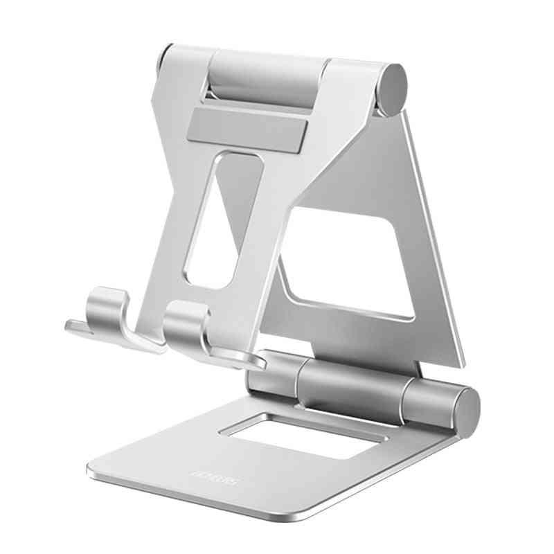 Adjustable Foldable Holder For Ipad Mini/ipad Air - Aluminium Alloy Desktop Stand