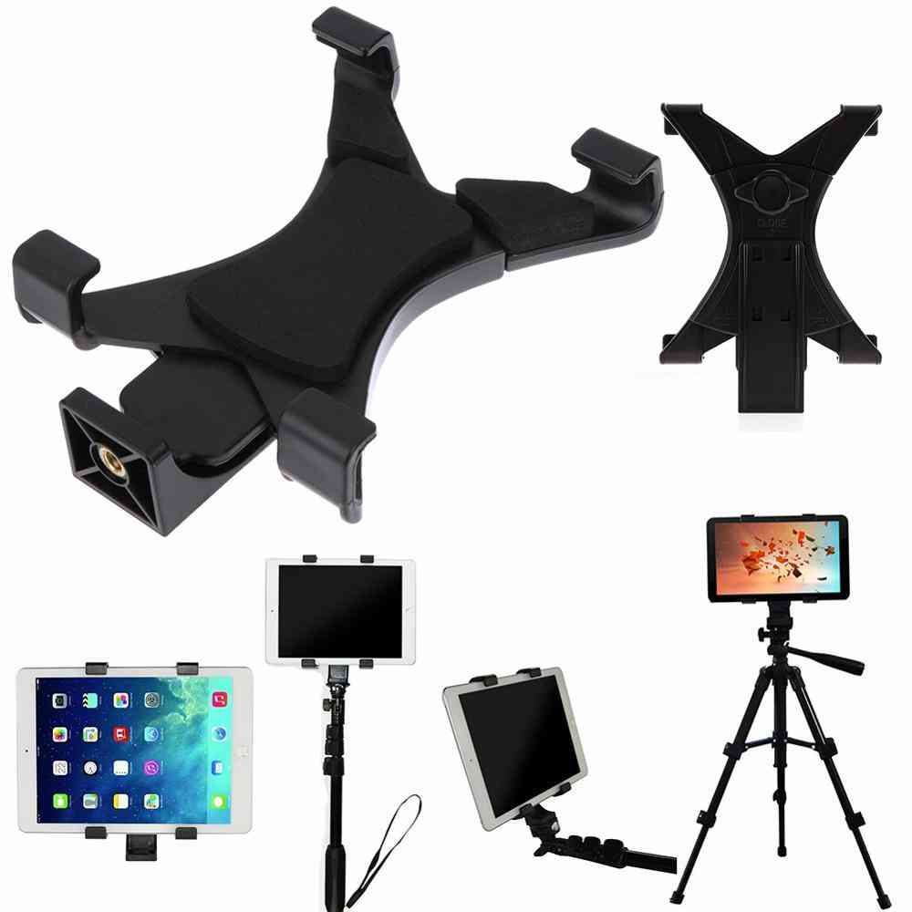 Universal Tablet Tripod Mount Clamp With 1/4