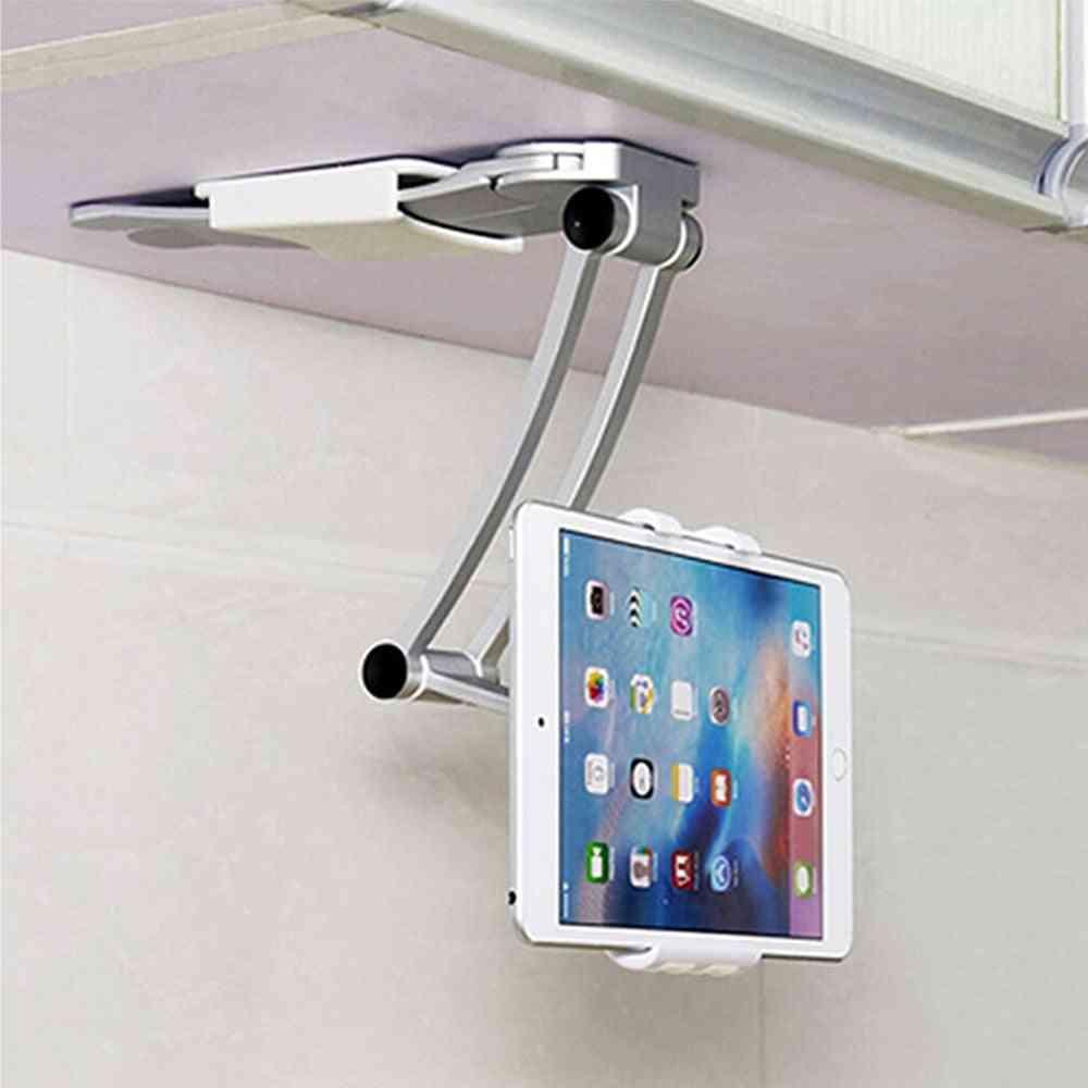 Wall/desk/kitchen Tablet Mount Stand-metal Bracket