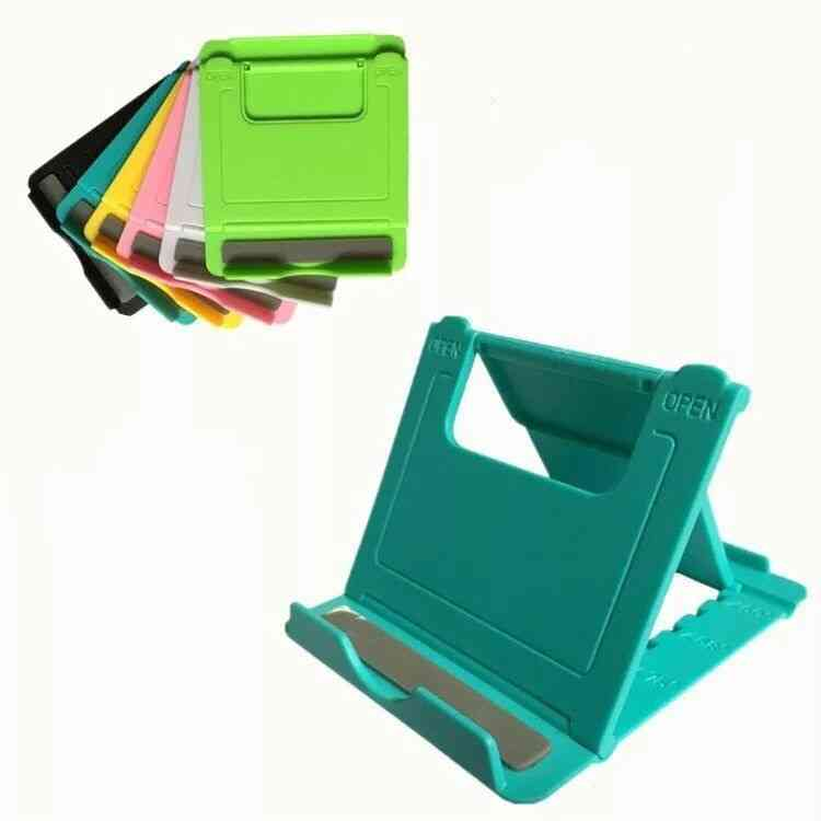 Universal Folding Table, Cell Phone Support Plastic Holder Desktop Stand For Smartphone/tablet