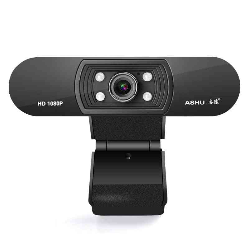 Hd Web Camera With Built-in Sound Absorption Microphone