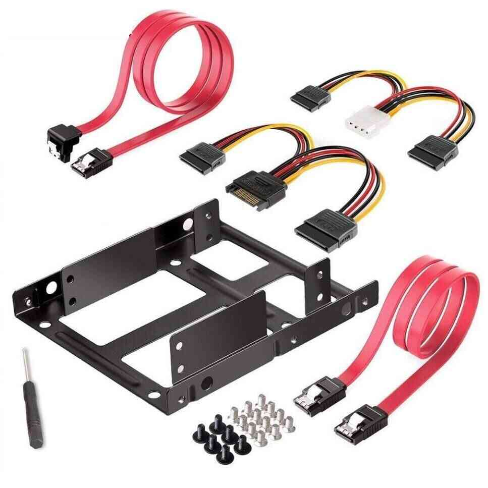 Dual Ssd/hdd Mounting Bracket Kit