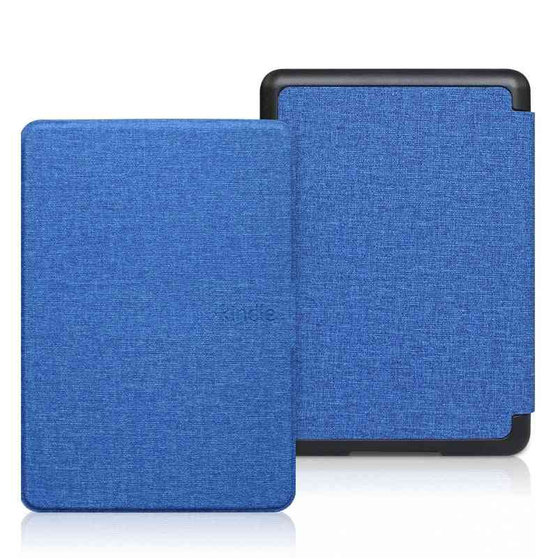 Pu Leather Smart Case Pc Back Hard Cover For All-new Kindle