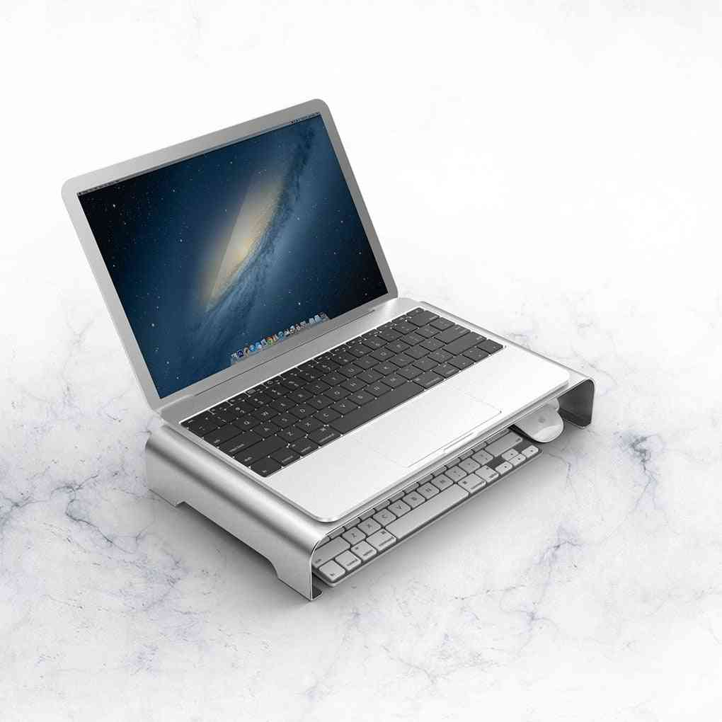 Aluminum Alloy Bracket Computer Monitor Stand Display Screen Storage Laptop Stand Holder