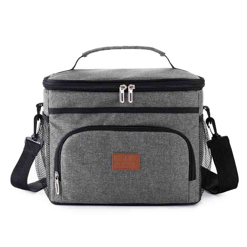 15l Insulated Thermal Cooler Lunch Box Bag For Work