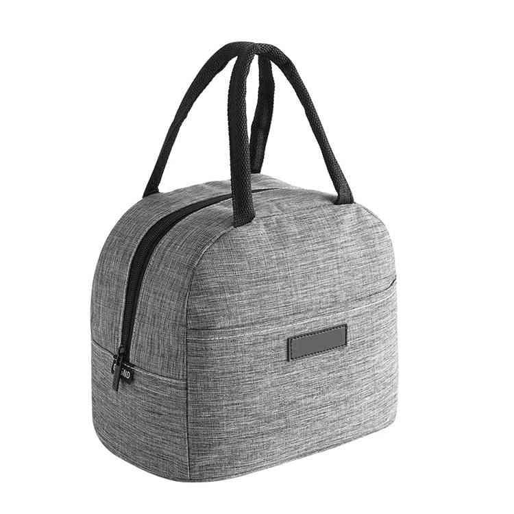 Women / Men Cationic Fabric Waterproof Portable Lunch Box, Bags