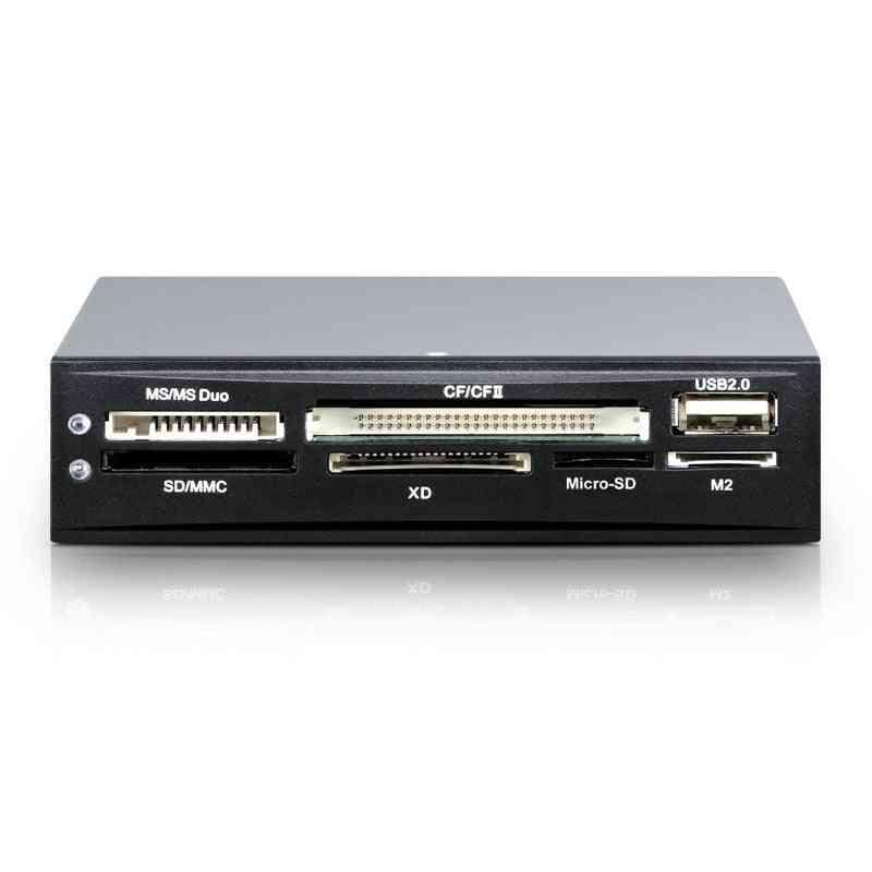 17 In 1 Usb 2.0 Internal Memory Card Reader Hub-floppy Box