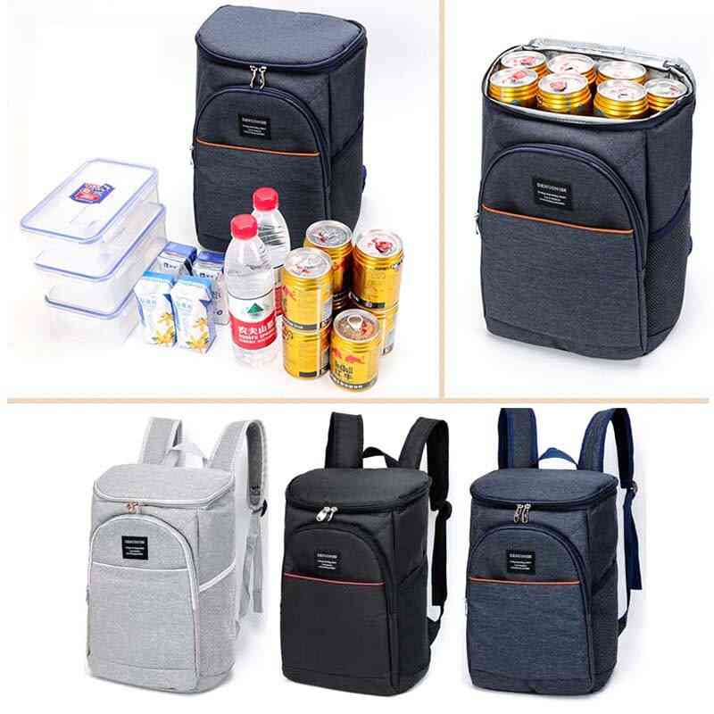 Waterproof Thickened Cooler 20l Large Insulated Thermal Refrigerator-backpack