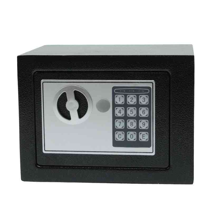 Digital Safe Box, Small Household, Mini Steel Safes Money, Bank Safety Security