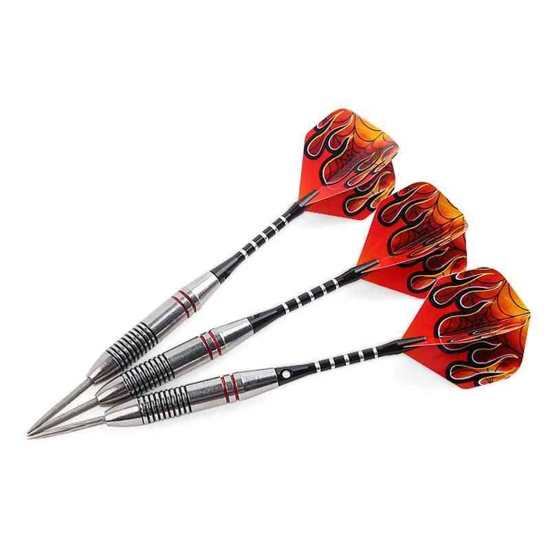 Professional Darts Steel Tip, Aluminium Shafts Nice Flights Indoor Sports