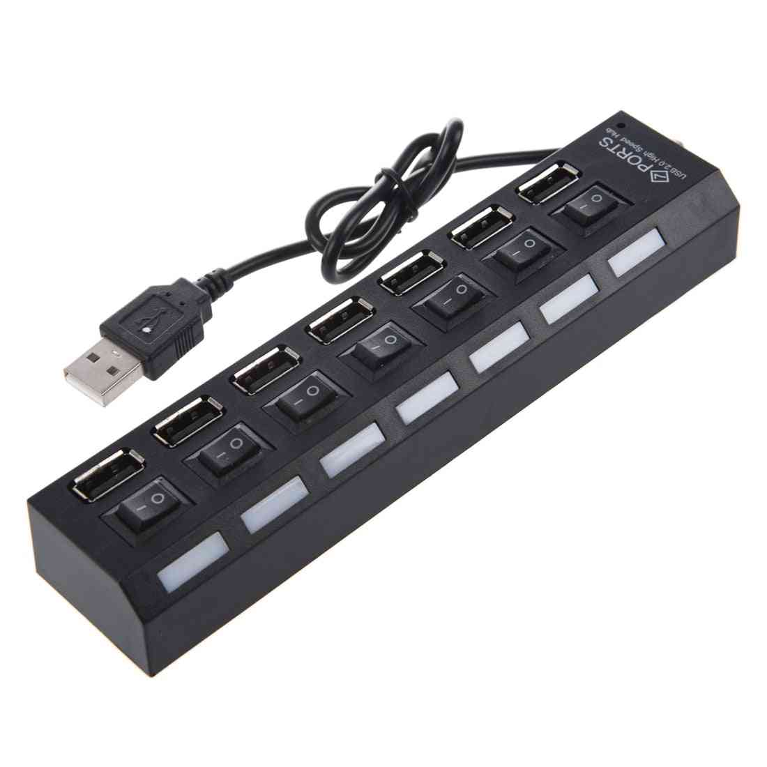 7-port Usb Hub With On / Off Switch