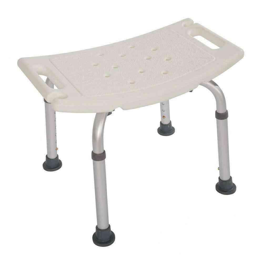 Non-slip Bath Bench, Aid Bathroom And Shower Chair Seat Disabled Elderly