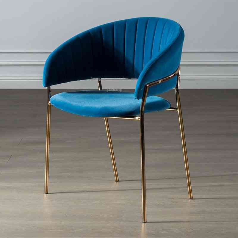 Luxury Backrest Dining Chair, Creative Negotiation Chairs