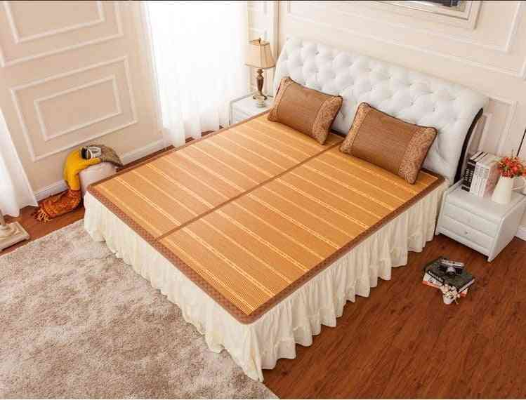 Double Sided Folding Bamboos Mats For Bed