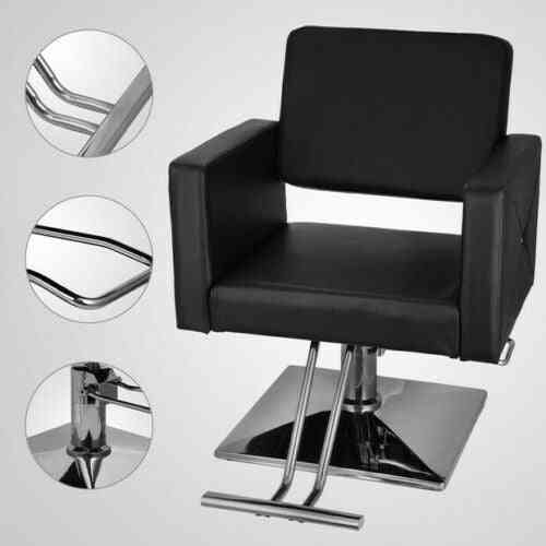 Hydraulic Barber Chair, Pu Leather Styling Salon Modern Hairdresser, Tattoo & Shaving Chairs