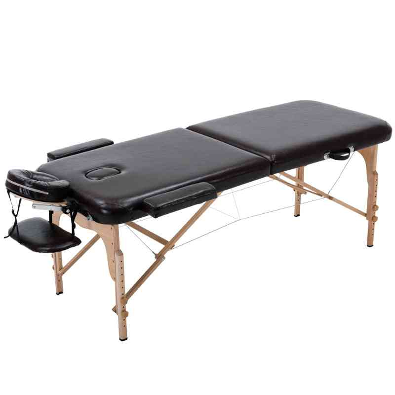 Massage Table Portable 3 Section All-inclusive Folding Couch Bed