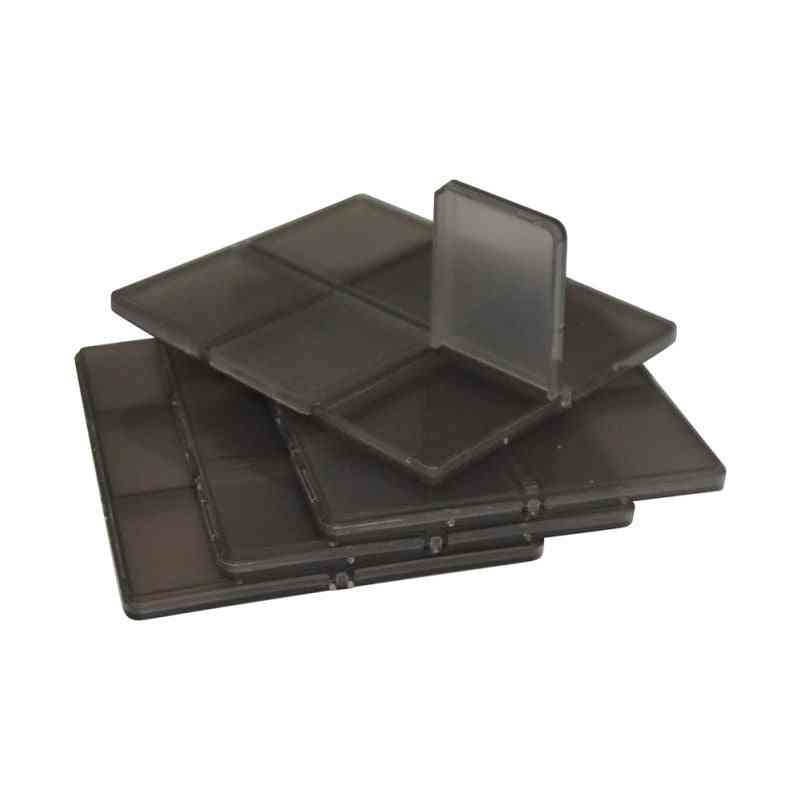 Hard Micro Sim/micro Sd Sdhc Tf Ms Memory Card Storage Box, Simple Style Holder Carrying Protector