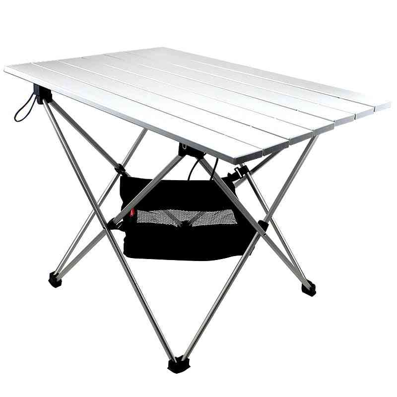 Folding, Roll-top Lightweight Portable Stable Camping Table
