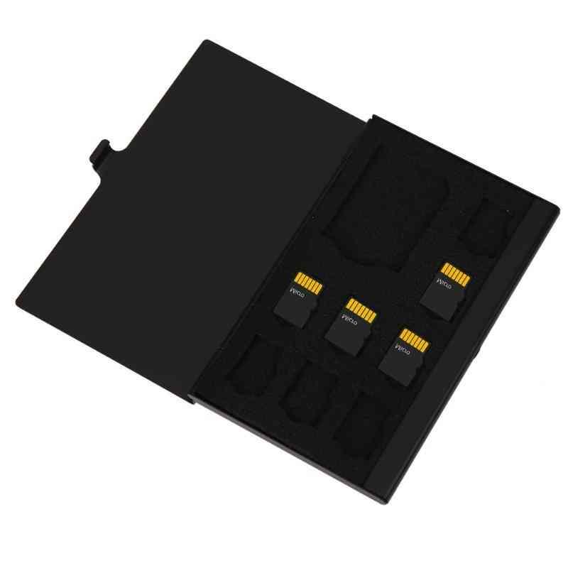Portable Memory Card Case, Micro Sd Card Pin Storage Box