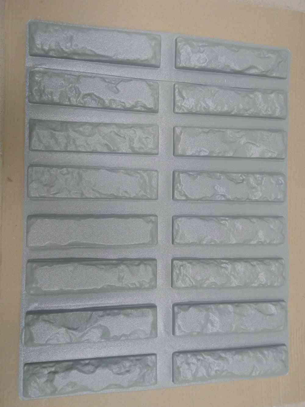 Plastic Molds For Concrete Plaster Super Best Price Wall Stone Cement Tiles Old Brick Decorative Design