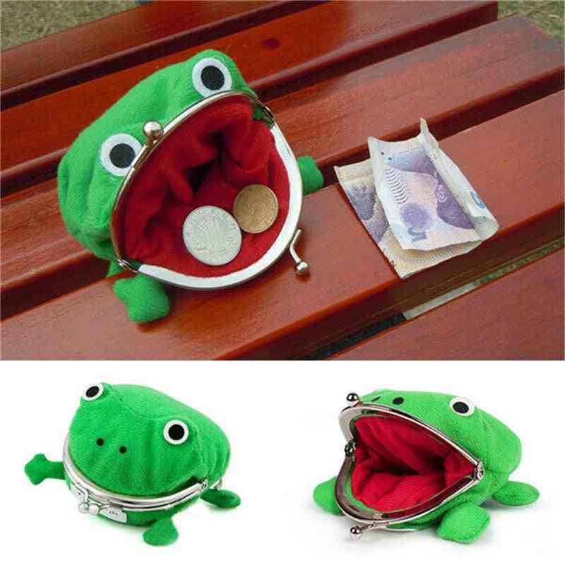 Frog Coin Purses, Cartoon Wallet, Anime Manga Shape Pouch For