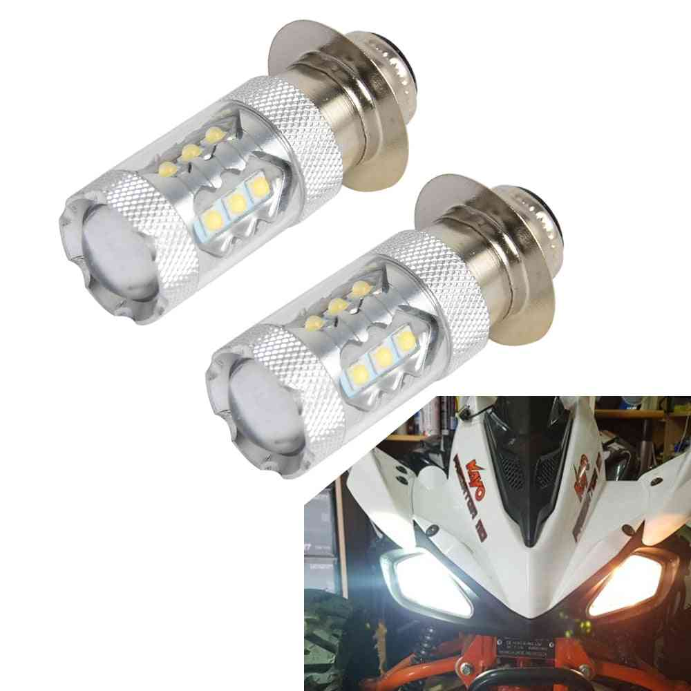 Super Led Headlight Bulbs Upgrade For Yamaha Atvs Raptor Blaster Banshee Atv