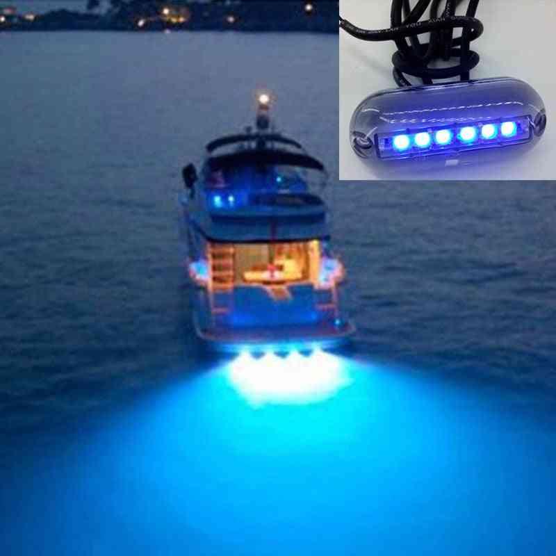 Led Underwater Fishing Boat Night Water Landscape Lighting For Marine