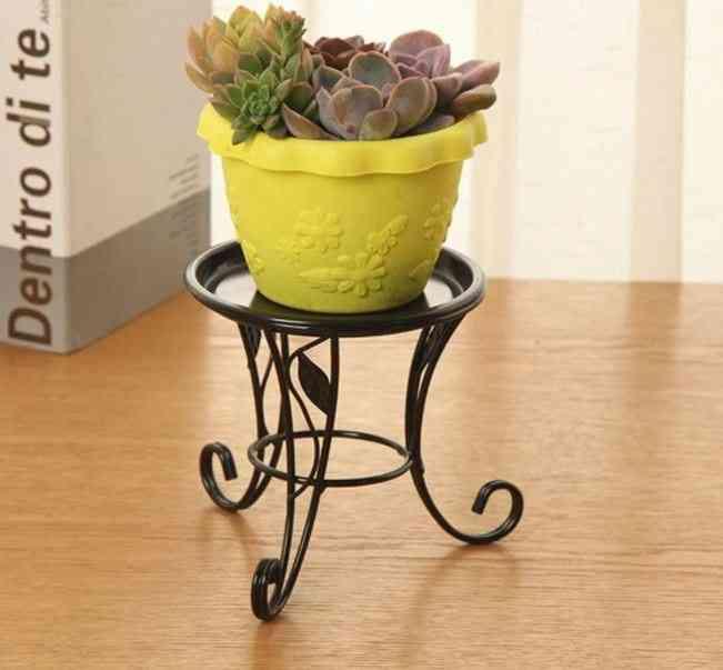 Mini Metal Pot Stand Plants Stand Flower Stand Succulent Indoor Outdoor Pot Holder