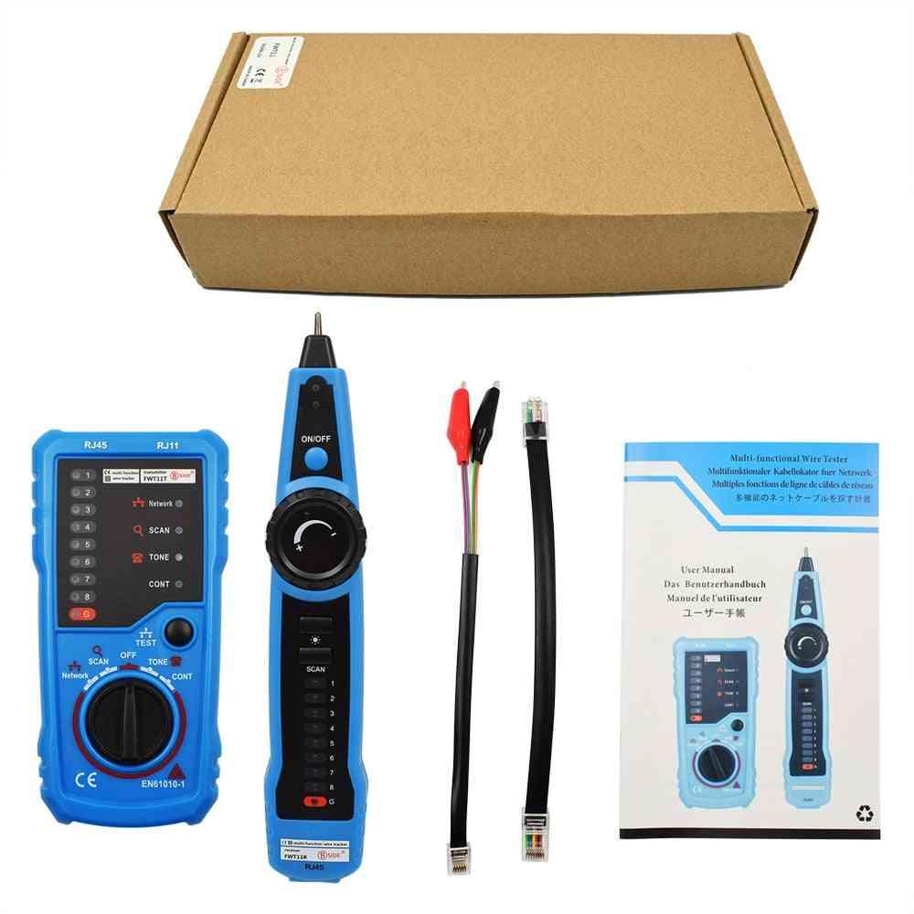 Telephone Wire Tracker Tracer Toner Ethernet Lan Network Cable Tester Detector Line Finder