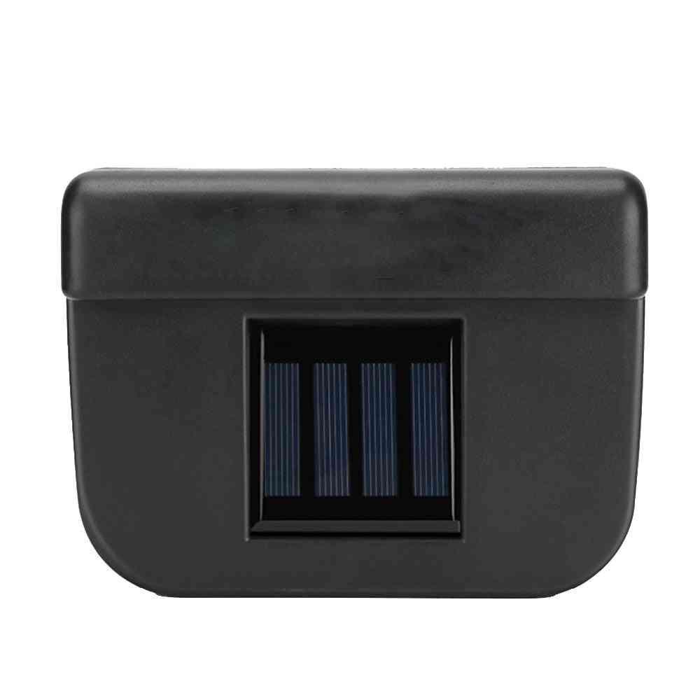 Solar Power Car Radiator Fan, Environmental Exhaust Cooler