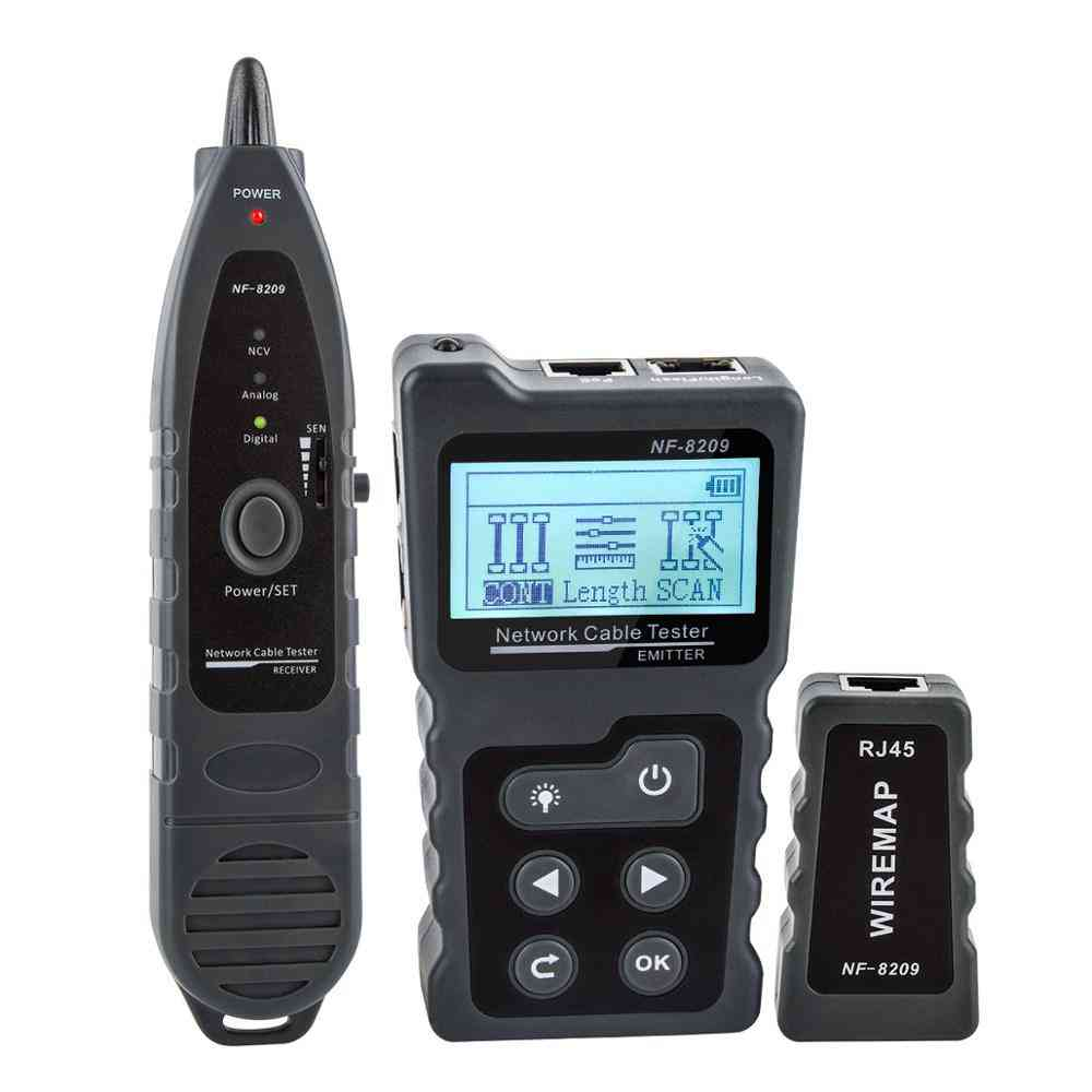 Network Cable Tester Nf-8209 Wire Tracker Networking Tool