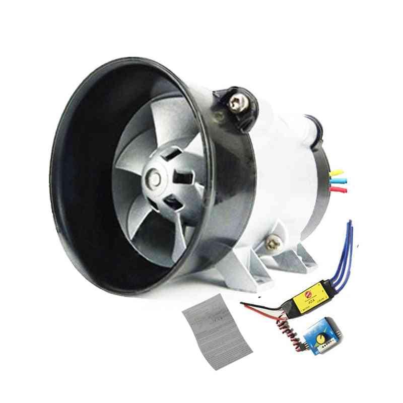 Universal Car Electric Turbine Power Turbo Charger, Tan Boost Air Intake Fan